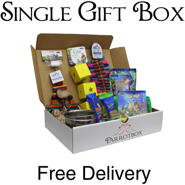 Single Parrotbox Gift Box-PARROTBOX PET SUPPLIES
