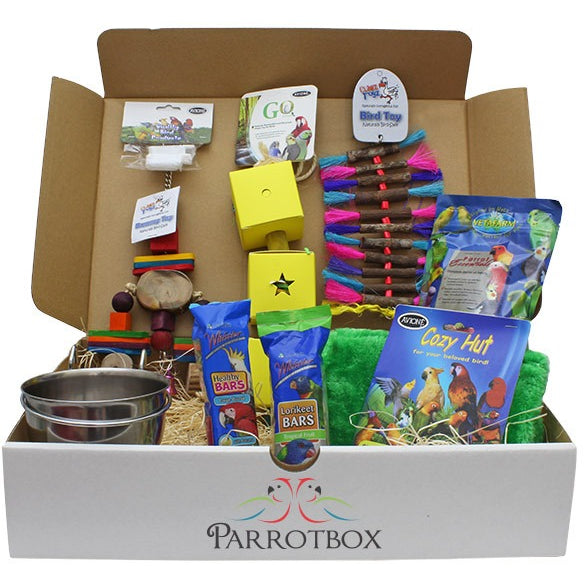 Parrotbox Gift Box - Large Bird-PARROTBOX PET SUPPLIES