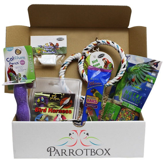 Parrotbox Gift Box - Small Bird-PARROTBOX PET SUPPLIES