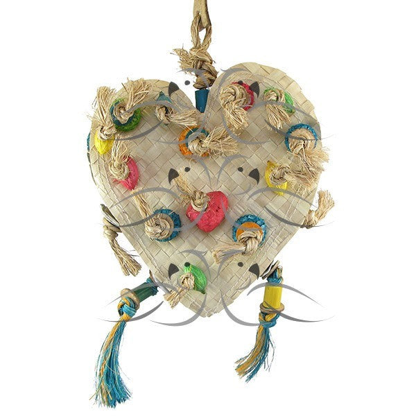 Heart Mat-PARROTBOX PET SUPPLIES