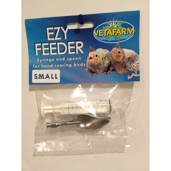 Ezy Feeder Syringe and Spoon Small-PARROTBOX PET SUPPLIES