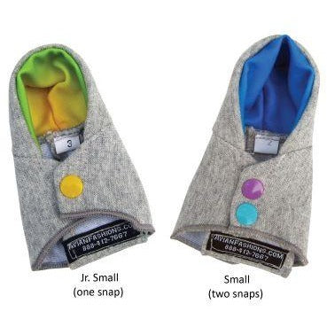 Avian Fashions Hoodie - Year Round Fashion-PARROTBOX PET SUPPLIES