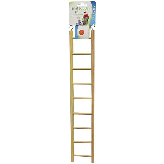 Ladder Wood 9 Step-PARROTBOX PET SUPPLIES