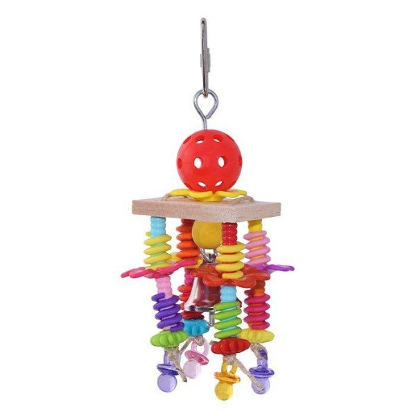 Balsa Springs Bird Toy