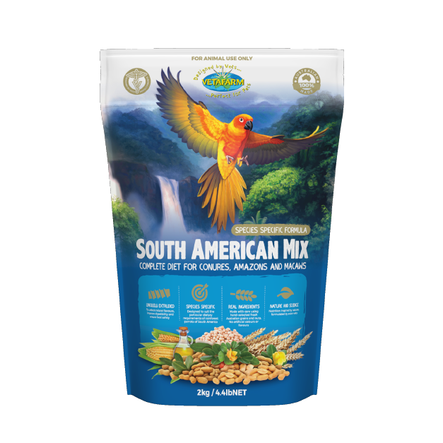 Vetafarm South American Pellets 2Kg PARROTBOX PET SUPPLIES