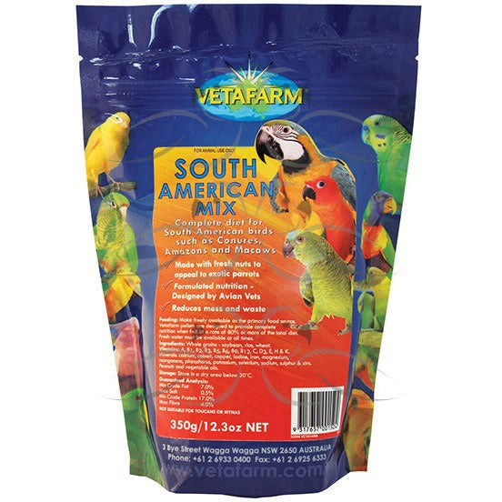 Vetafarm South American Mix Pellets 2Kg-PARROTBOX PET SUPPLIES