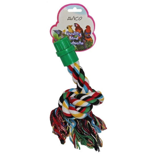 Rope Perch One Ended-PARROTBOX PET SUPPLIES