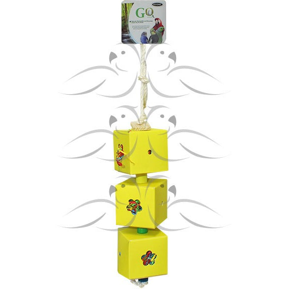 Shred & Find Bird Toy 3 Boxes (Sml) Multiple Colors Available - PARROTBOX PET SUPPLIES