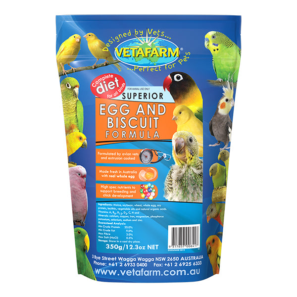 Egg & Biscuit bird food 350GM - PARROTBOX PET SUPPLIES