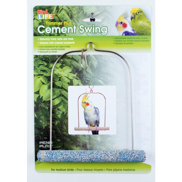 Penn Plax Cement Swing with Wire Frame 175MM