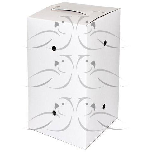 Bird Cardboard Carry Box 23x14x12cm - PARROTBOX PET SUPPLIES