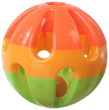 Rattle Ball Entertain-A-Ball 13cm