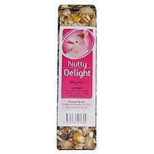 parrotbox nutty delight bird treat bar passwell