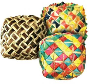 Woven Foot Toy Cube Small