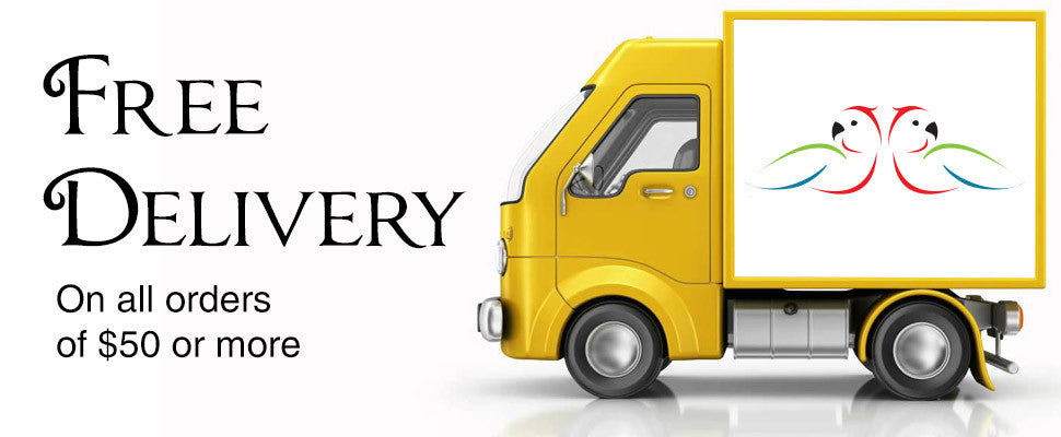 Free delivery on all orders over $50