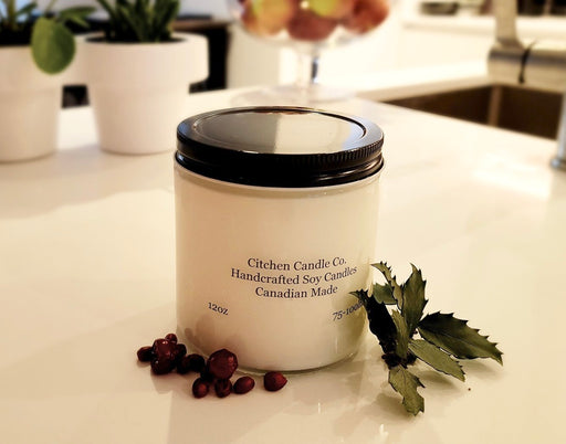 12oz Christmas Scented Soy Candle