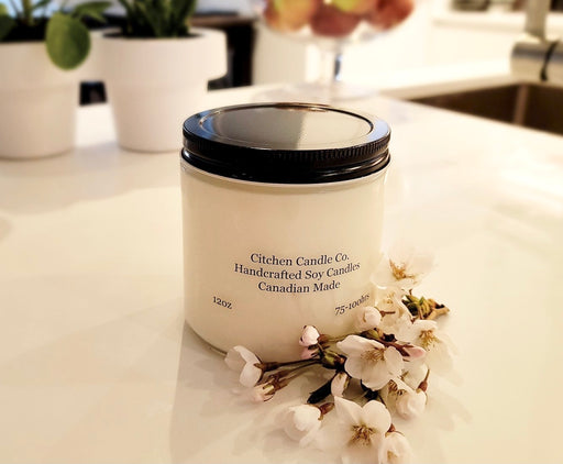 12oz Cherry Blossom Scented Soy Candle