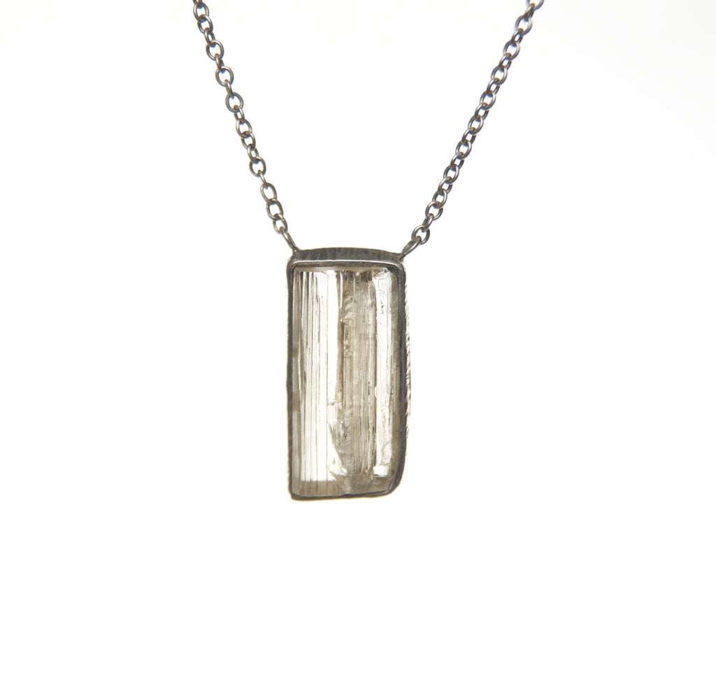 OXADIZED IMPERIAL TOPAZ NECKLACE