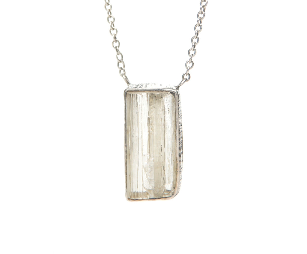IMPERIAL TOPAZ SILVER NECKLACE