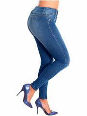 LOWLA 21848 | Butt Lifter Skinny Colombian Jeans for Women