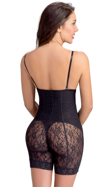 Body Shaper for Women Girdle with Lace Lowla 372 - Lowla US Fashion Shapewear - 2