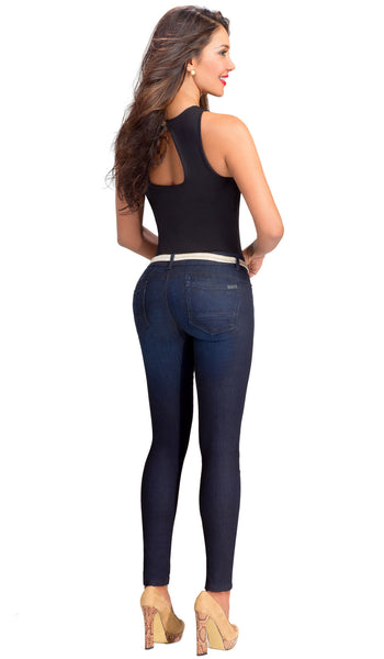 Butt Lifter Compression Jeans Lowla 218236 - Lowla US Fashion Shapewear - 2
