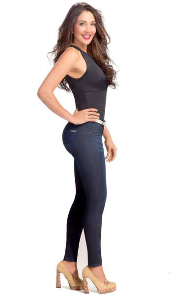Butt Lifter Compression Jeans Lowla 218236 - Lowla US Fashion Shapewear - 3