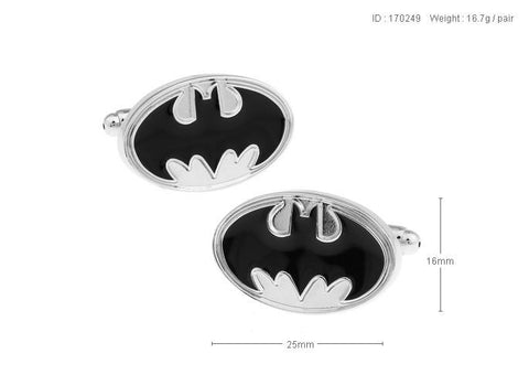 Batman Badge Cufflinks For Men's