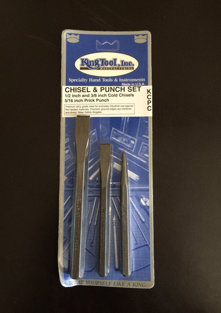 CHISEL AND PUNCH SET
