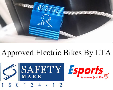 Lta Approved Electric Bicycles