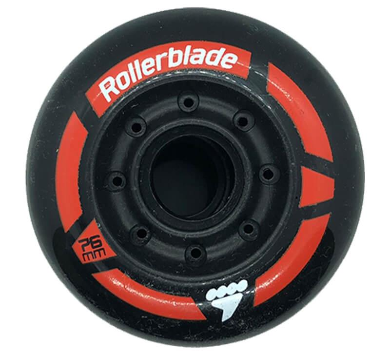 Rollerblade Urban Black/Red Wheels