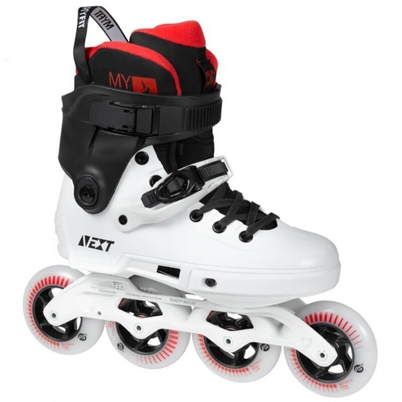 Powerslide Next 90 Black White Skates