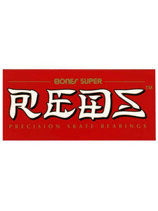 Bones Super Reds STD Bearings - Inlinex