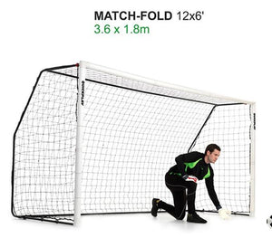 Quick Play Folding Match Goal 12′ x 6′ Goal Post