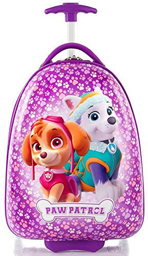 "Nickelodeon PAW Patrol Girl's 18"" Rolling Carry On Luggage"