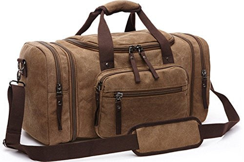 Aidonger Unisex Canvas Duffel Bag