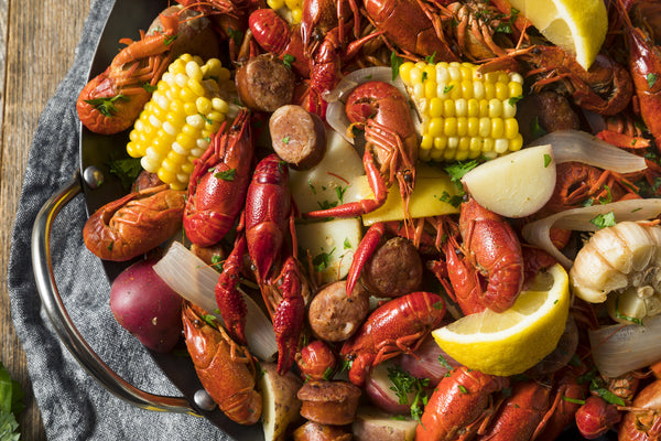 Louisiana Creole Boil Party - Monday, May 24th