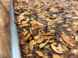 Bar : Vegan Almond Bar  - Almonds + Dark Chocolate Chips