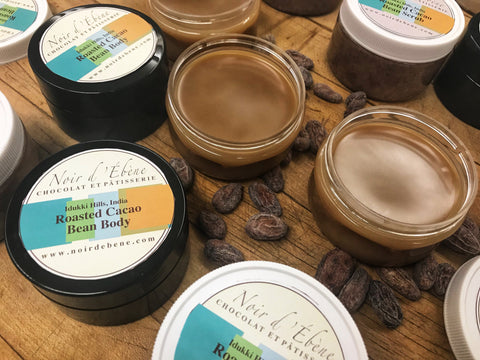 Roasted Cacao Bean Scrub