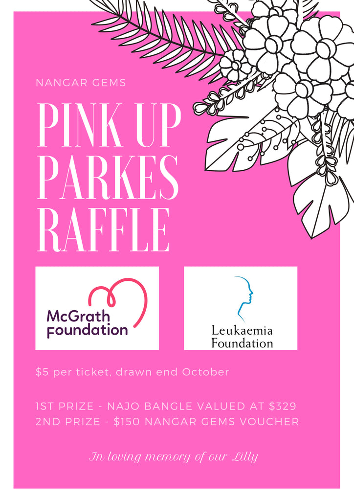 Pink up Parkes Raffle