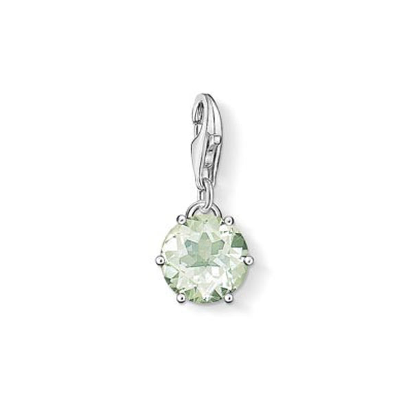 Charm Club August birthstone with prasiolite
