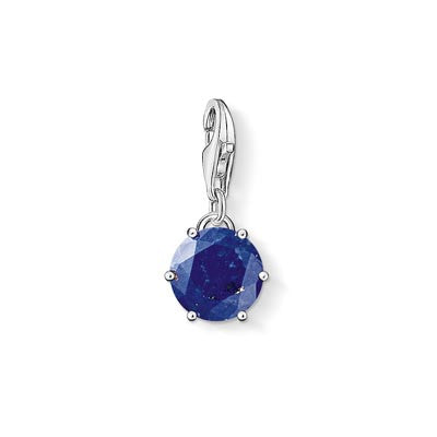 Charm Club September birthstone with lapis lazuli