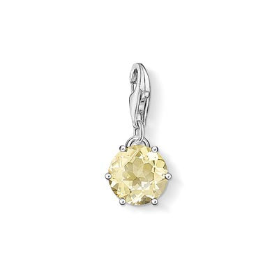 Charm Club November birthstone with lemon quartz