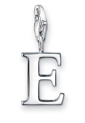 Thomas Sabo Silver Letter Charms