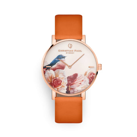43mm Pink Robin Christian Paul Watch GPR4316
