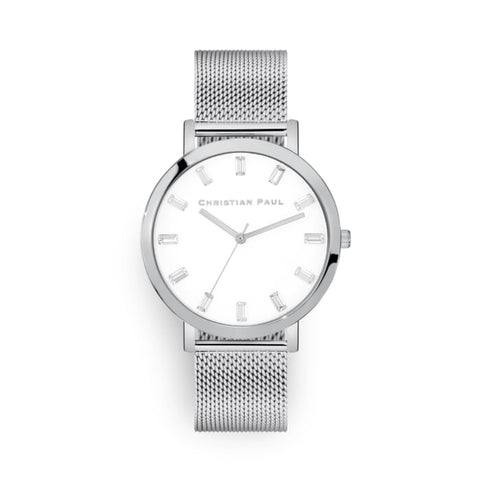 43mm Luxe Crystal Christian Paul Watch LWS4320