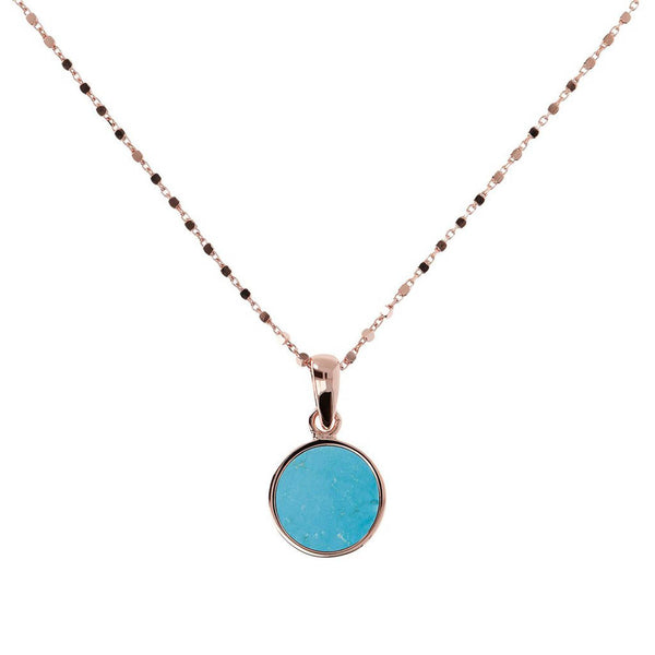 Bronzallure Small Alba Necklace (Magnesite) WSBZ01022.MG