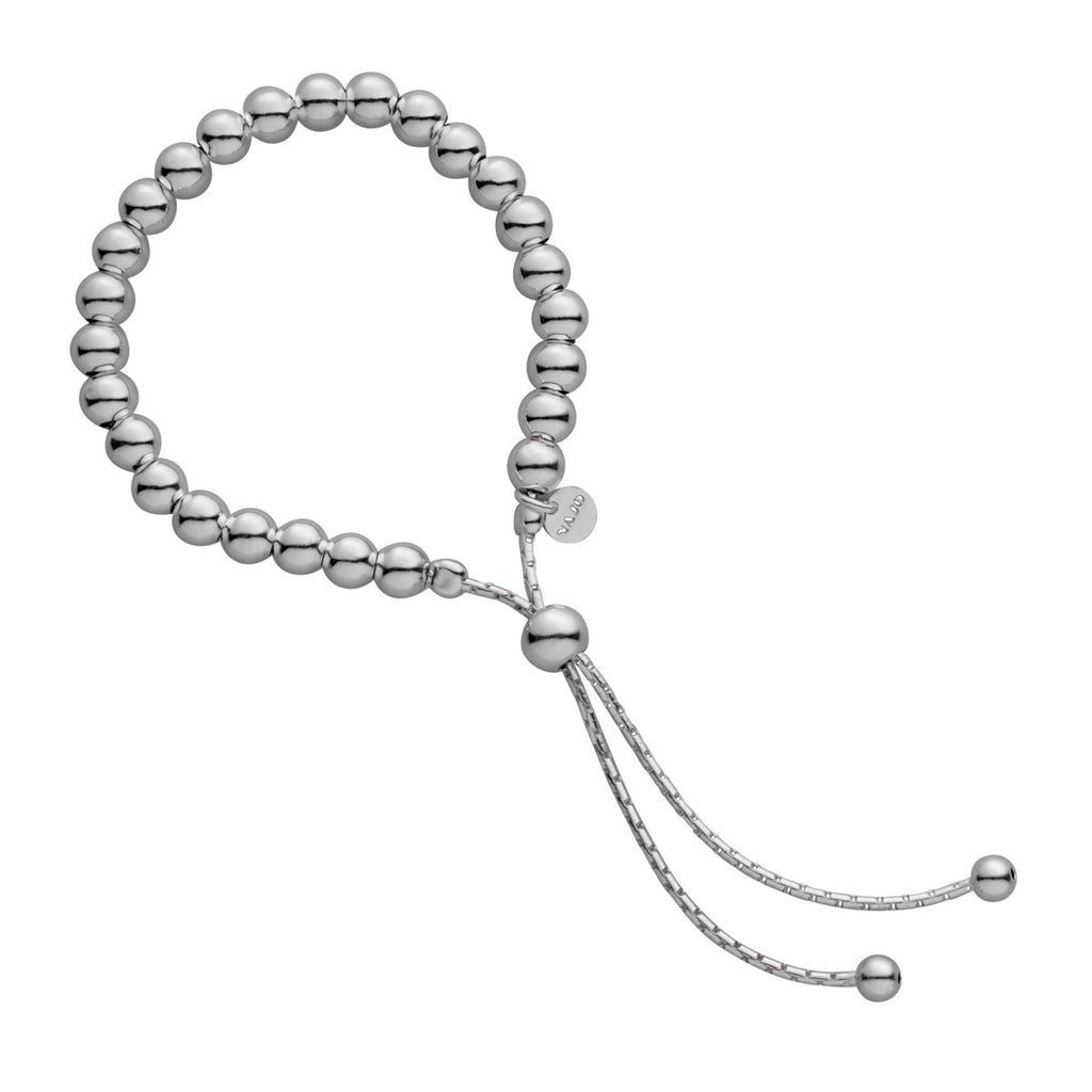 Najo adjustable ball bracelet with chain feature