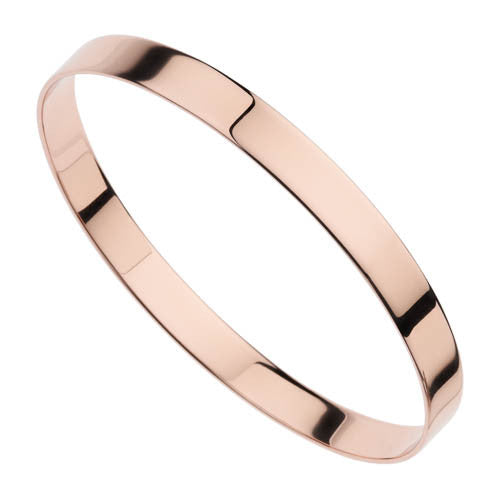 7mm rose finish bangle
