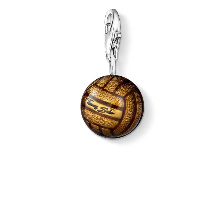 Thomas Sabo Leather Football Charm CC691